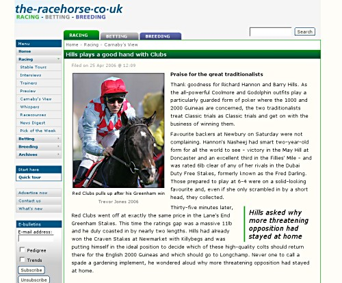 [Racing feature]
